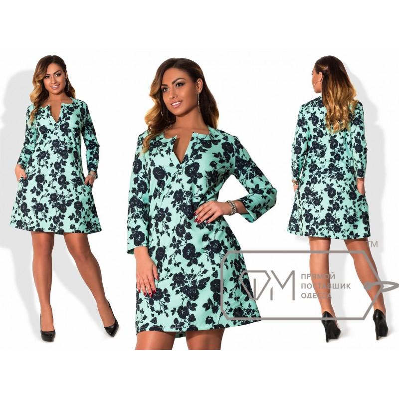 Платье Модель X5337 Фабрика моды
