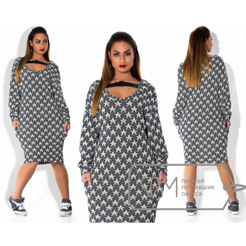 Вязание платьев для пышных дам