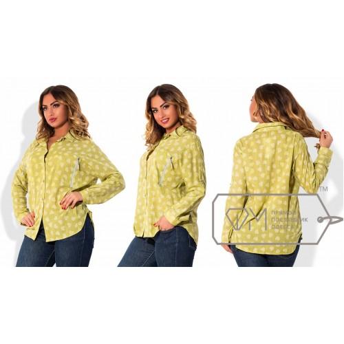 Рубашка ФМ Модель X5102