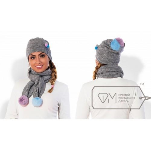 Комплект из шапки и шарфа ФМ Модель X5245