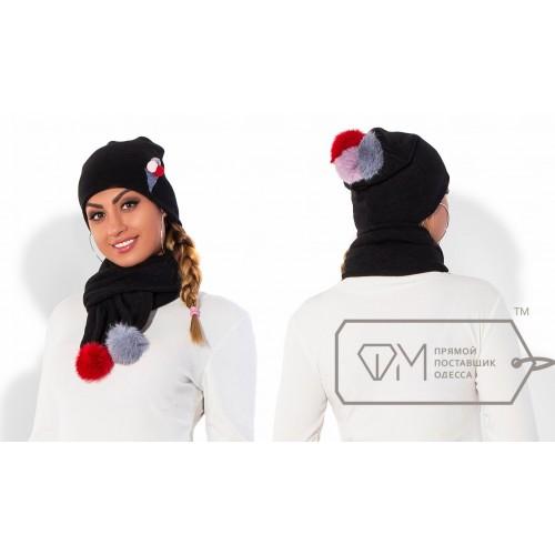 Комплект из шапки и шарфа ФМ Модель X5247