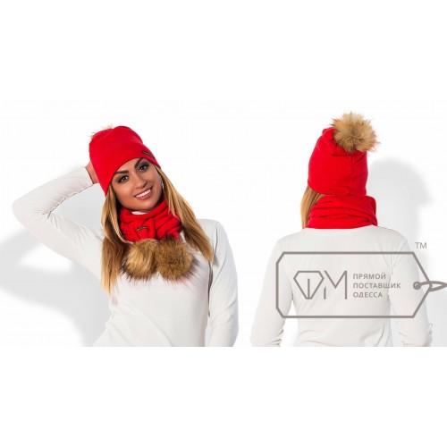 Комплект из шапки и шарфа ФМ Модель X5248