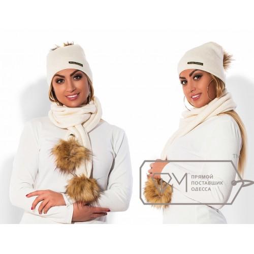 Комплект из шапки и шарфа ФМ Модель X5249