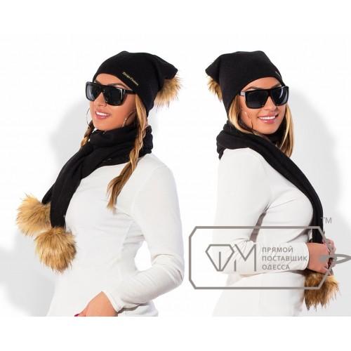 Комплект из шапки и шарфа ФМ Модель X5251